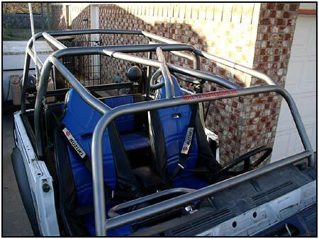 Roll Bar To Protect Rear Seat Suzuki Forums Suzuki